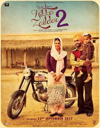 Nikka Zaildar 2 2017 Punjabi 400MB HDRip 480p x264