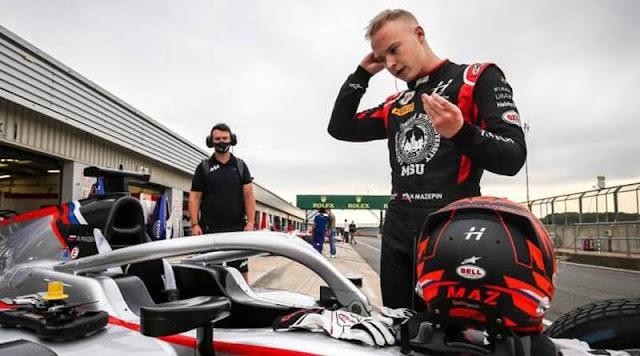 Nikita Mazepin Haas F1 driver