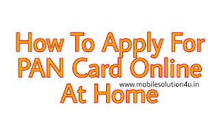 How To Apply PAN Card Online | How To Make PAN Card Online | Simple and Easy Step To Apply