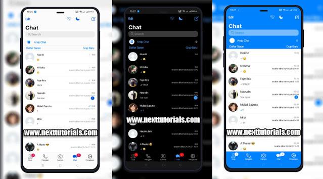 Kumpulan Tema WhatsApp iOS 14 (White-Dark-Blue) Update Tampilan iPhone 2021,gb whatsapp ios update 2021,bm wa ios x v8.86,download wa mod anti banned