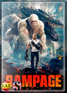 Rampage: Devastación (2018) HD 720P LATINO/INGLES