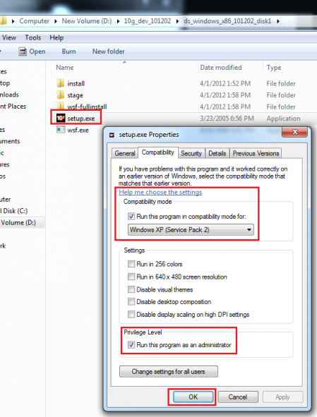 iTec: Installation of Oracle Dev Suite 10g on Windows OS