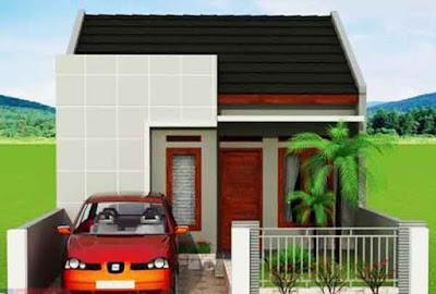 bentuk rumah sederhana tapi elegan type 36