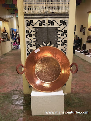 Copper Handicrafts a the National Copper Museum in Santa Clara del Cobre