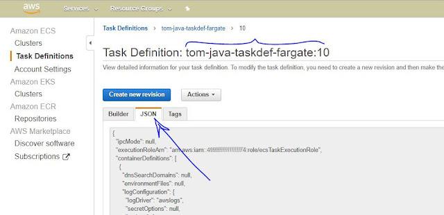Taskdef JSON