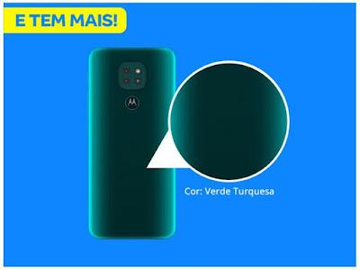 Smartphone Motorola Moto G9 Play (Canal da Lu - Magalu) Foto 3