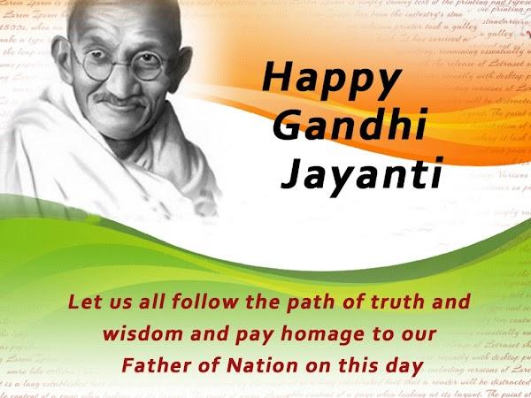 {*Updated*} Gandhi Jayanti Wishes,Images in Hindi