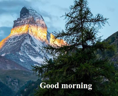 good morning images with nature - beautiful matterhorn switzerland