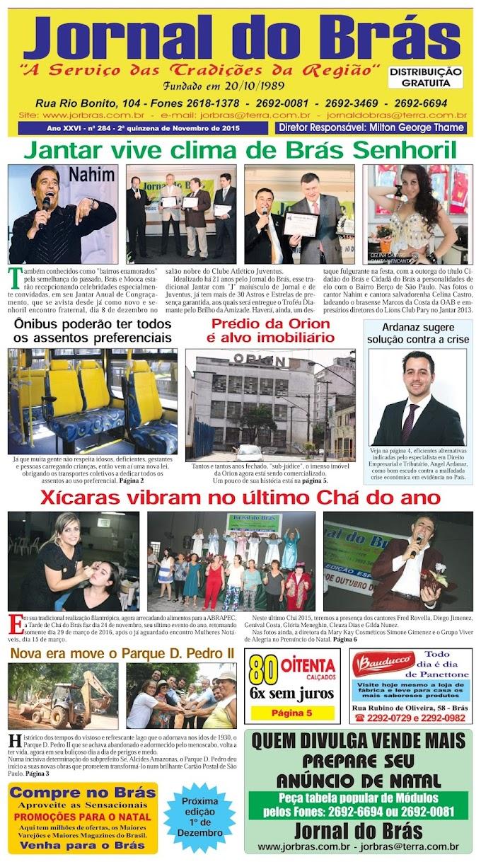 Destaques da Ed. 284 - Jornal do Brás