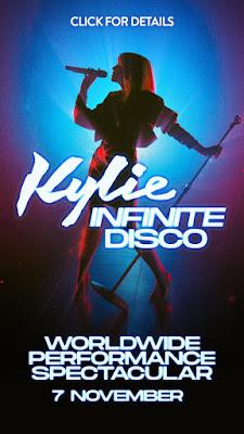 Queen Of Musique Kylie Minogue Announces Virtual Show 'Infinite Disco', Nov. 7th!