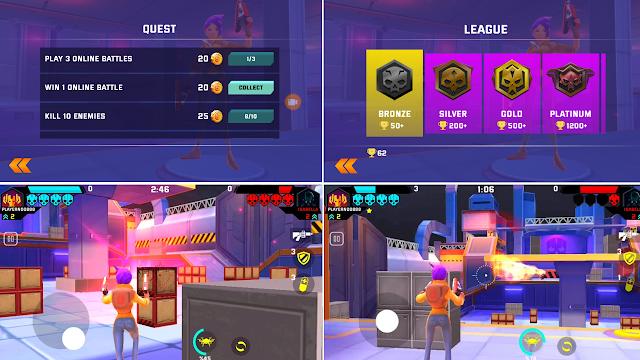 Game Tembak-tembakan Android Pandangan Pertama Mad Heroes (Versi Beta)