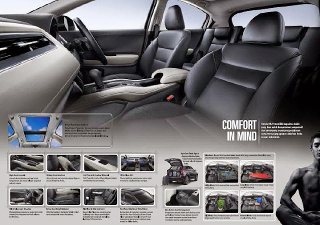 luxury interior HRV