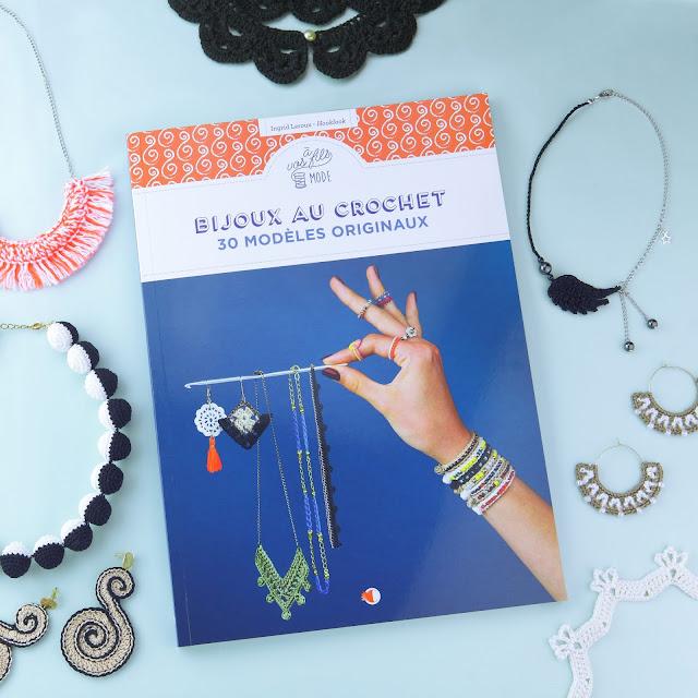 livre bijoux au crochet