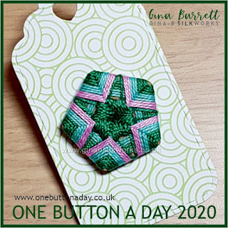 One Button a Day 2020 by Gina Barrett - Day 153 : Seren