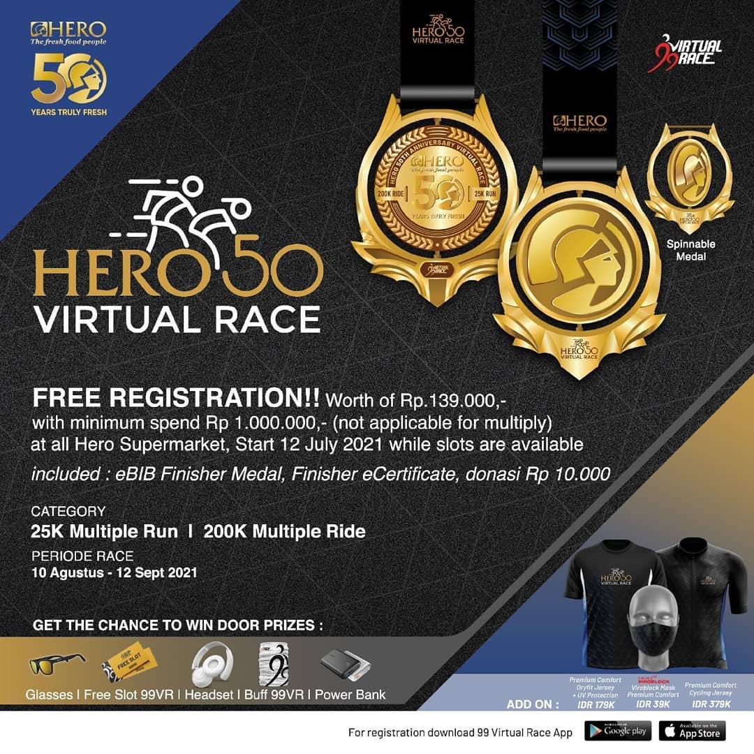 Hero 50 Virtual Race • 2021