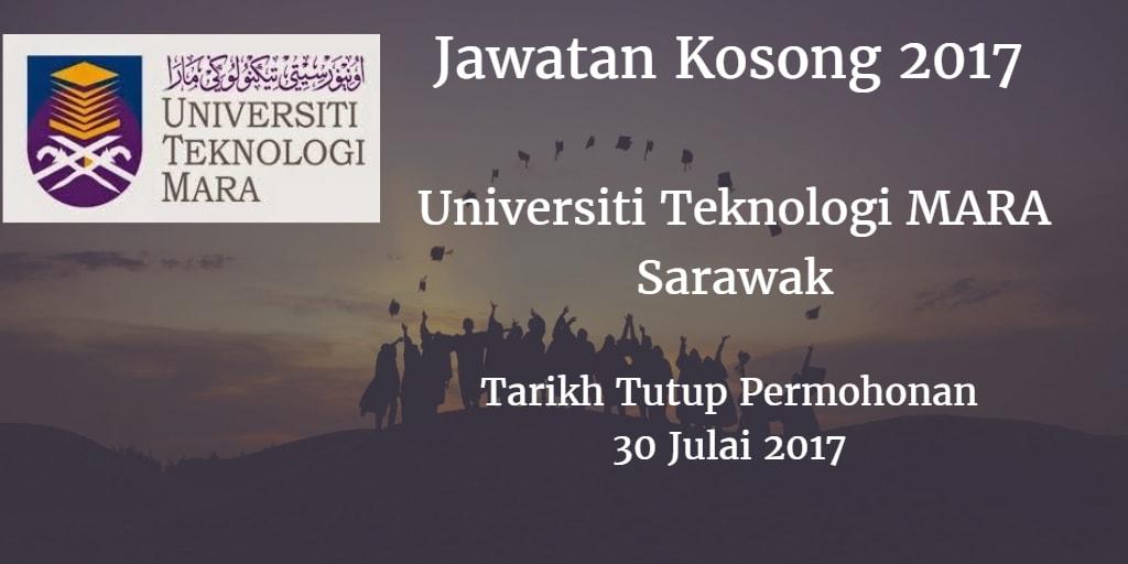 Jawatan Kosong UiTM Sarawak 30 Julai 2017