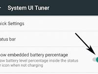 Cara Menampilkan Persentase Baterai di Android Marshmallow
