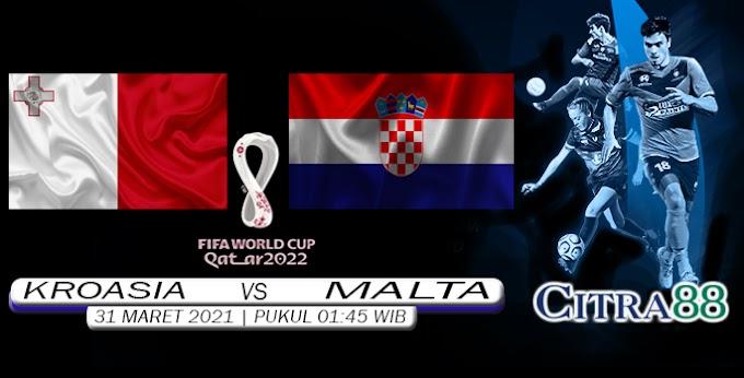 PREDIKSI KROASIA VS MALTA 31 MARET 2021