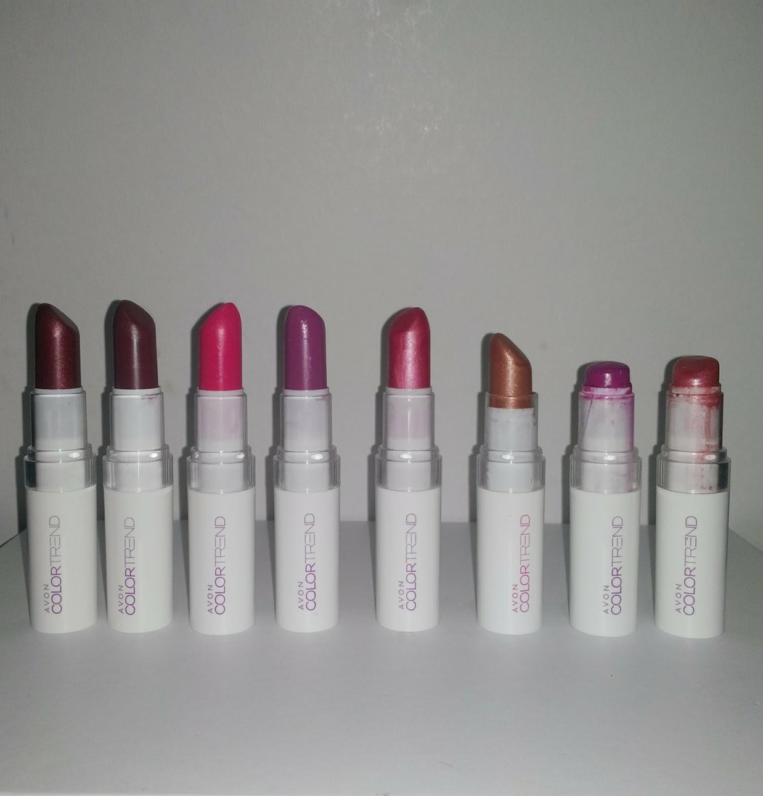 Avon Color Trend Rujlar Makyaj Deneyimlerim