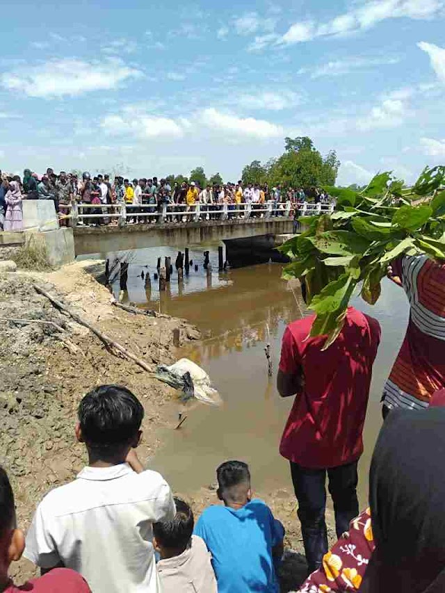 Lebaran Pertama Aceh Timur Gempar Dengan Penemuan Mayat Dalam Karung di Peureulak