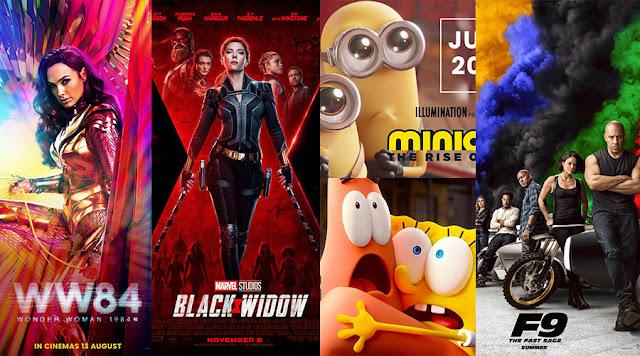 Senarai Filem Antarabangsa Ditangguhkan Tayangan Disebabkan COVID-19