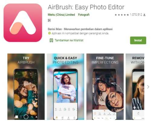 Aplikasi Edit Foto Profesional Terbaik di Perangkat Android