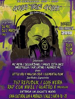 XI Festival de Hip Hop 2018 Policarpa | 2