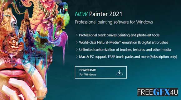 Corel Painter 2021 v21