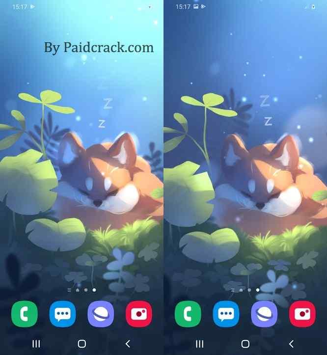 Sleepy Fox Live Wallpaper Paid Apk 1.0.0