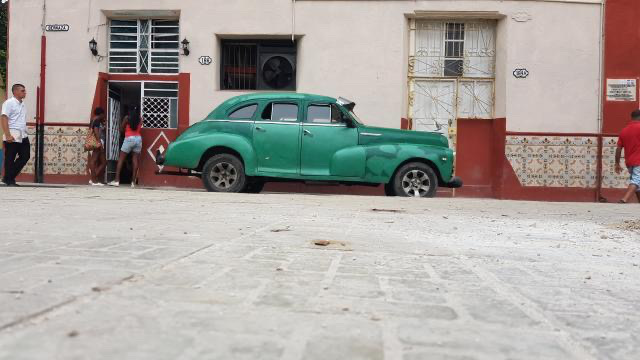old Havana, vintage cars