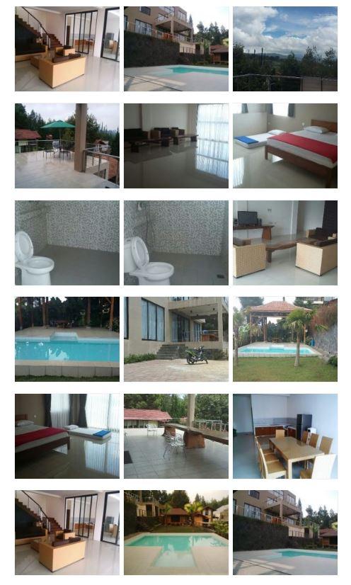 Villa Lord Residence Istana Bunga Lembang Fasilitas Kolam Renang