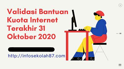 Terakhir 31 Oktober 2020 Surat Edaran Bantuan Kuota Data Internet Untuk Siswa Madrasah