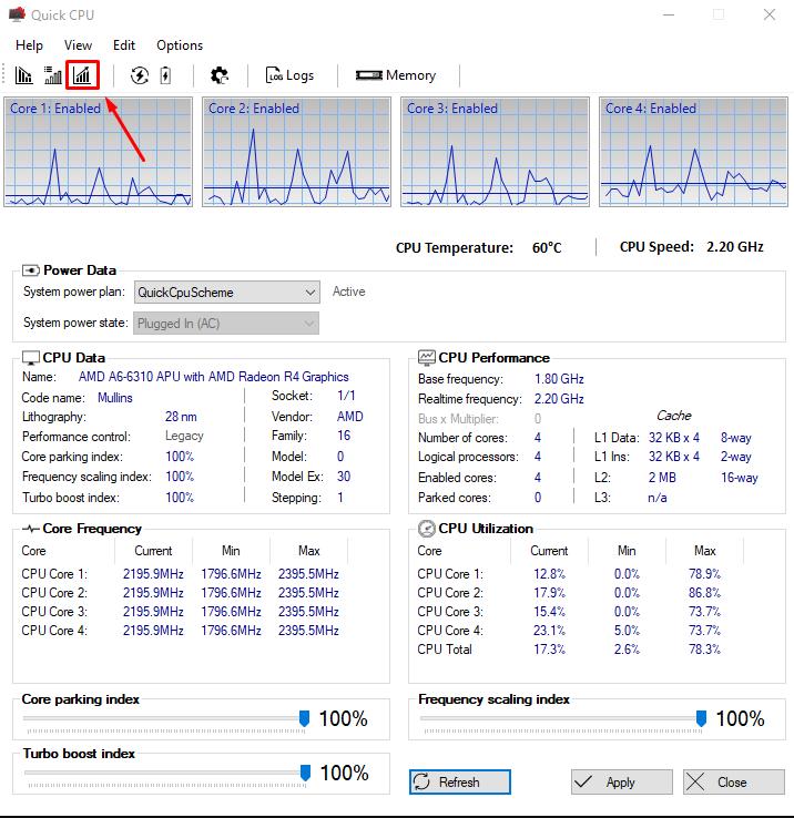QuickCPU: Software Ringan Buat Genjot Performa PC/Laptop Sampe MAXIMAL!