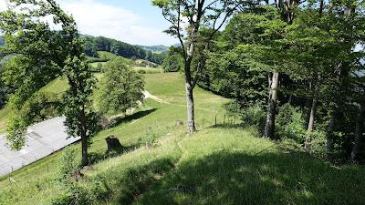 Kurz vor dem Hof Humbel ob Langenbruck
