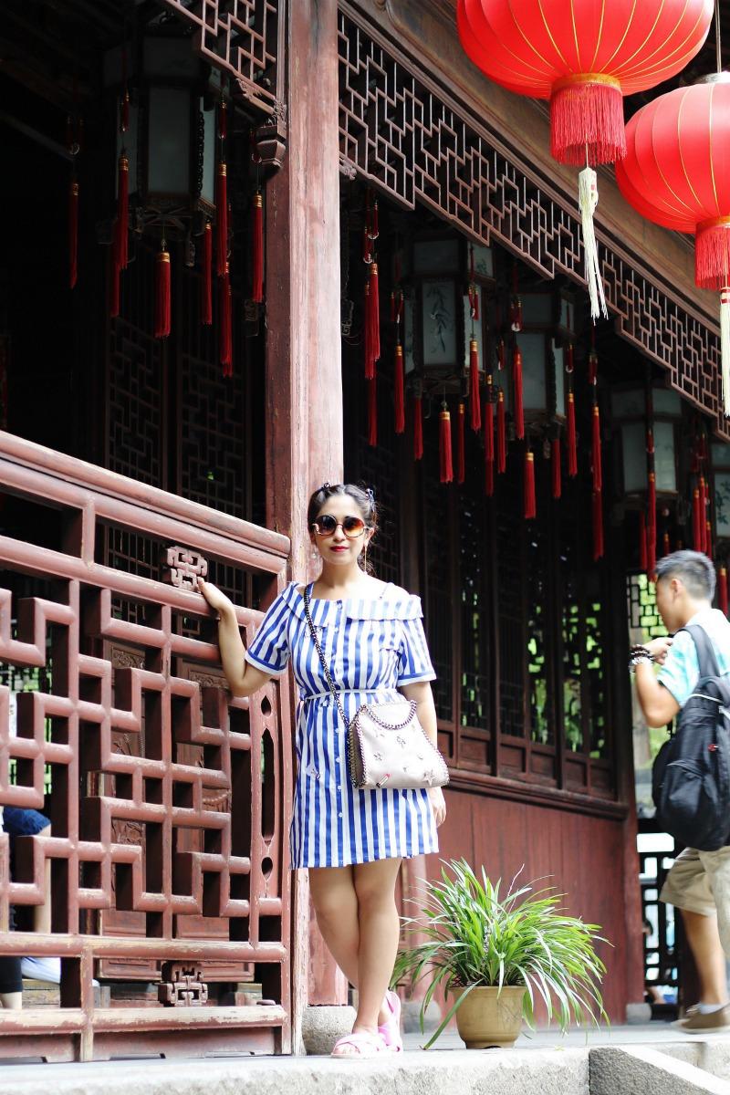 Shanghai Yuyuan Garden - Travel China Guide ootd stripes