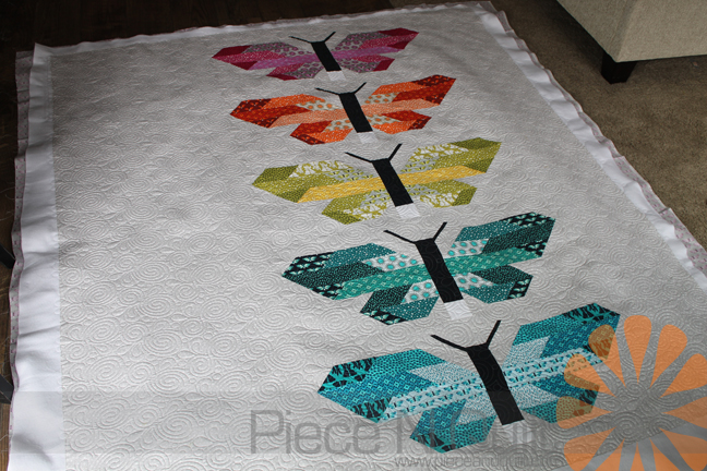 Piece N Quilt Butterfly Quilt Edge To Edge Machine Quilting By Beauteous Butterfly Quilt Pattern