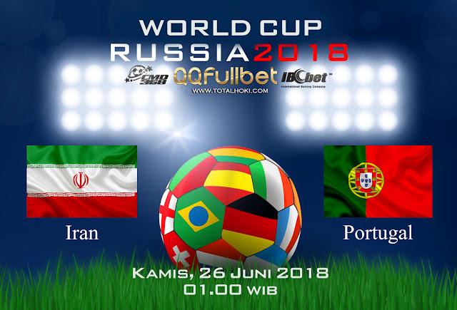 BOLA88 - PREDIKSI BOLA PIALA DUNIA : IRAN VS PORTUGAL 26 JUNI 2018 ( RUSSIA WORLD CUP 2018 )