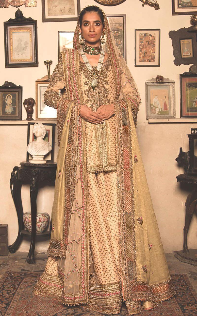 Fahad Hussayn Bridal Sharara