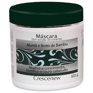 Máscara de Hidratação Capilar de Alumã e Broto de Bambu