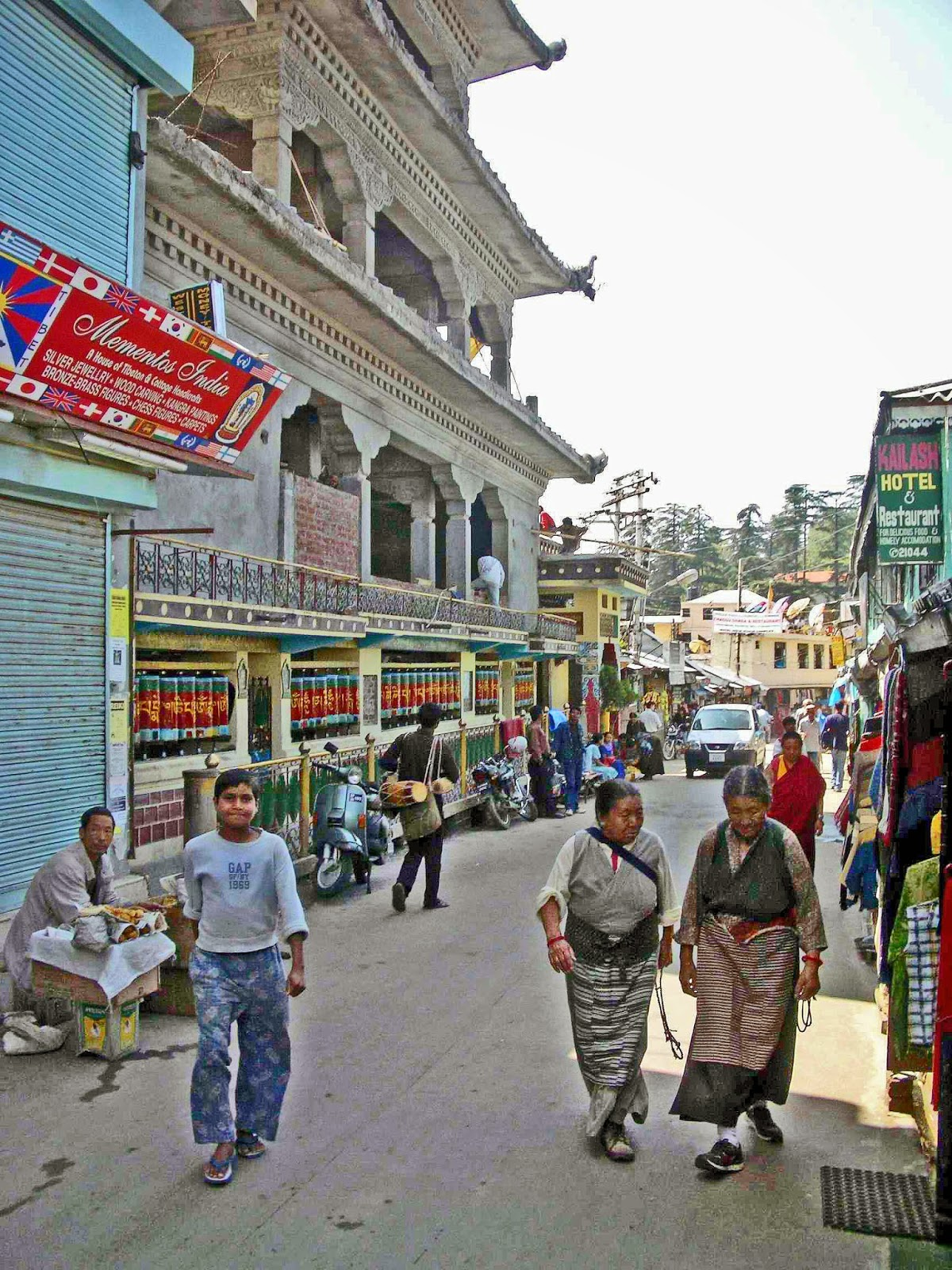10 Best Backpacking Destinations in India | The main street in McLeodGanj