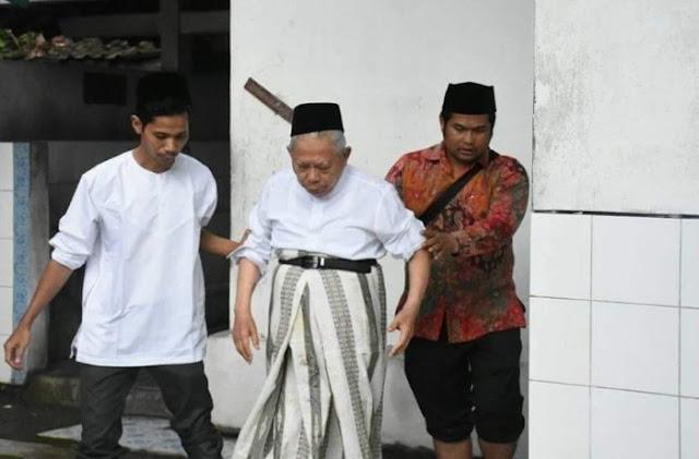 Ma'ruf Amin Ungkap Isi Hatinya, Mengaku Tak Nyaman Jadi Cawapres Lebih Baik Jadi Ketua MUI