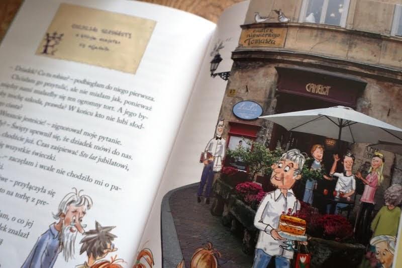 Tajemnica krakowskich pocztówek, książka dla sześciolatków