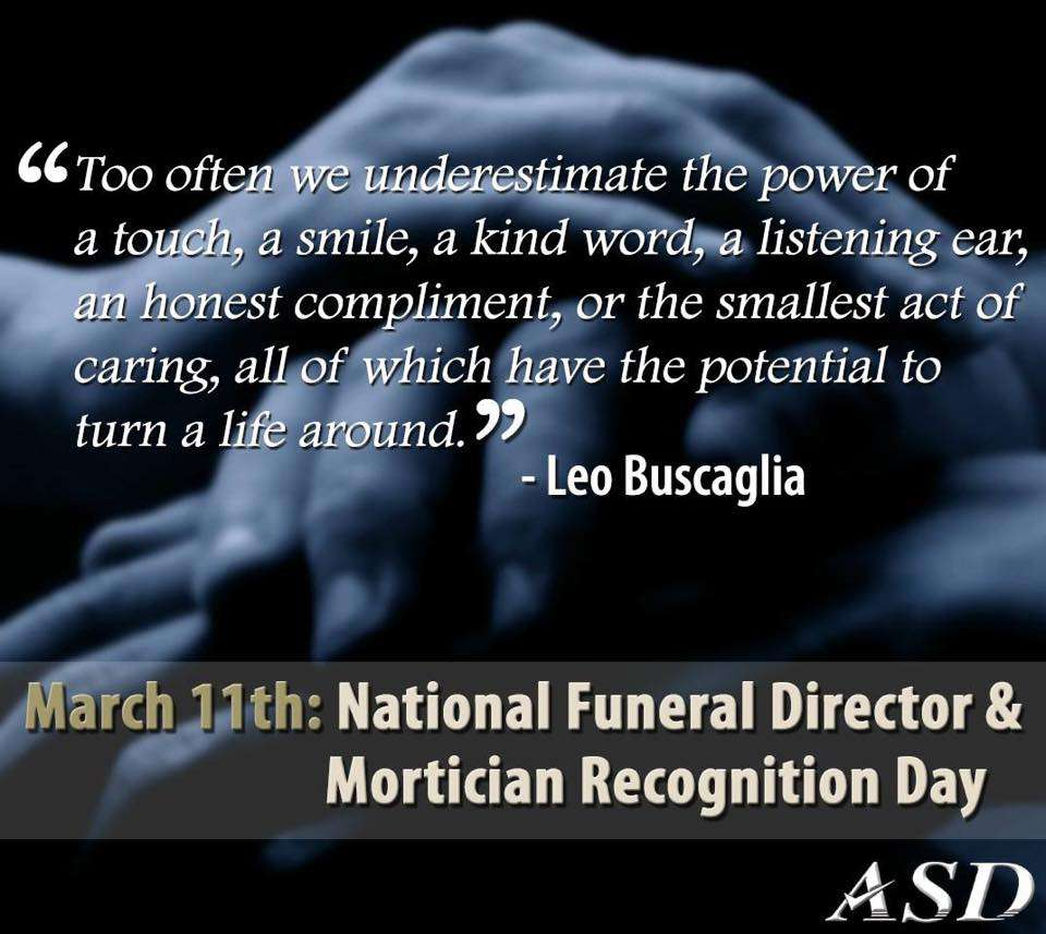 National Funeral Director and Mortician Recognition Day Wishes for Whatsapp