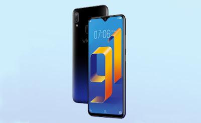 memiliki beragam fitur yang mewah dan uni seperti fitur dual kamera Spesifikasi dan Harga Vivo Y91, RAM 2GB / 16GB Smartphone Bezel-Less Vivo Termurah