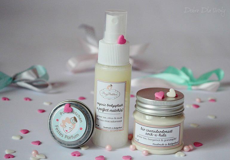 Pony Hütchen Bio cremedeodorant, Festes Parfum, Organic bodysplash
