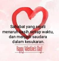 kata valentine untuk sahabat