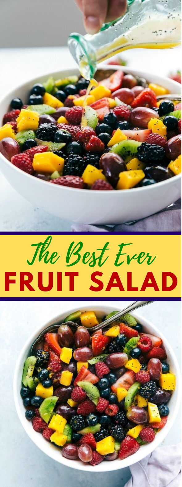 THE BEST EVER FRUIT SALAD #diet #healthy