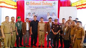 Tim Surveior Kemenkes Laksanakan Re-Akreditasi FKTP di Puskesmas Benteng