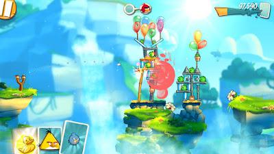 لعبة انجري بيرد, لعبة Angry Birds 2 للاندرويد, لعبة Angry Birds 2 مهكرة, لعبة Angry Birds 2 للاندرويد مهكرة