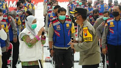 Polresta Sidoarjo Gelar Pelatihan Aplikasi Silacak untuk 347 Bhabinkamtibmas Sidoarjo